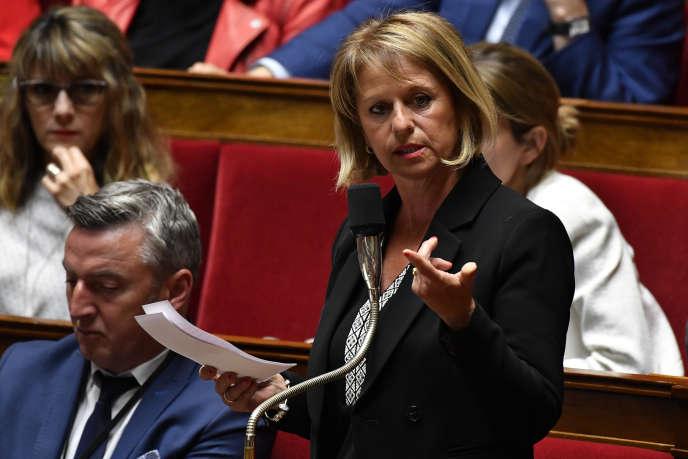 La députée LRM Brigitte Bourguignon à l'Assemblée nationale, le 22 mai 2018.