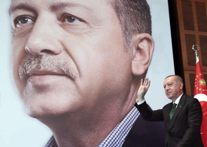 Le président Recep Tayyip Erdogan a Ankara, le 27 avril.
