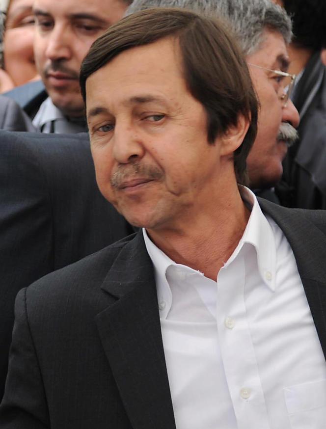 Saïd Bouteflika, le 19 mai 2012.