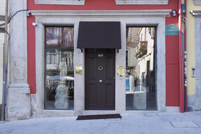 L'hôtel Maison particulière, à Porto.