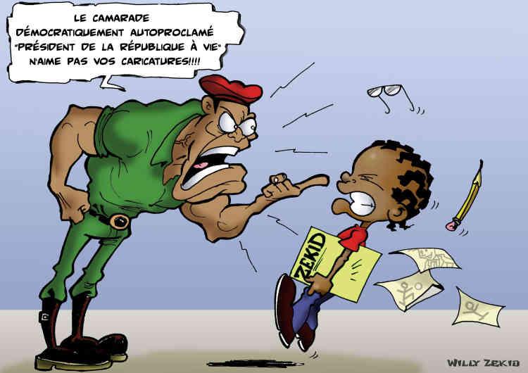 Willy Zekid, Congo-Brazzaville.