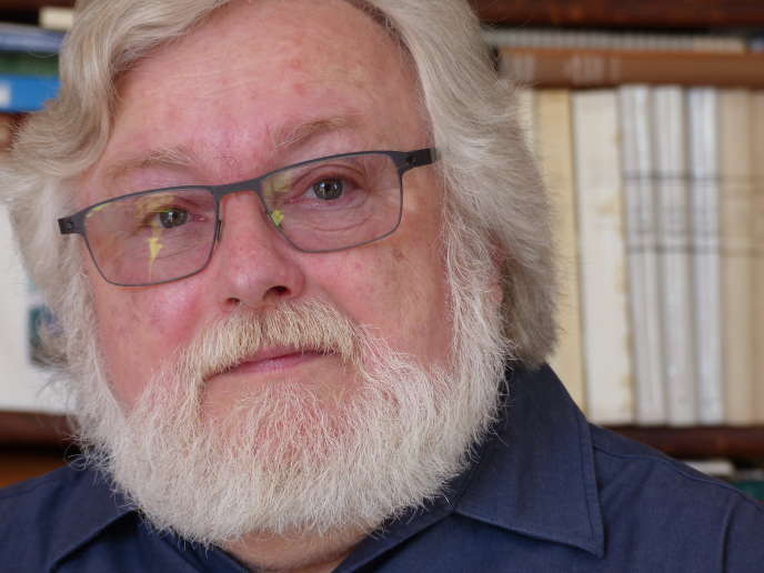 L'écrivain suisseJean-François Haas.