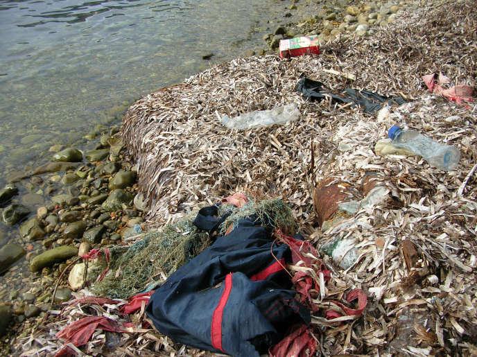 Le fonds de dotation Ody'C revendique une vision «entrepreneuriale» dans l'accompagnement des projets de dépollution de la Méditerranée. Ici, des déchets sur le littoral, à Villefranche-sur-Mer (Alpes-Maritimes).