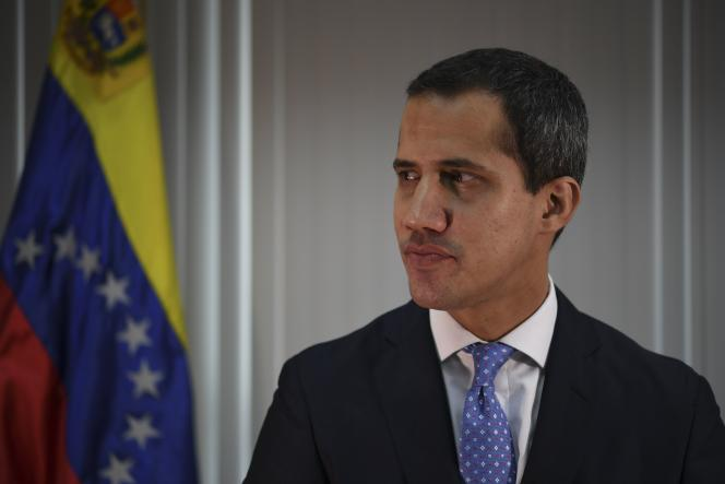 Juan Guaido à Caracas, le 6 mai.