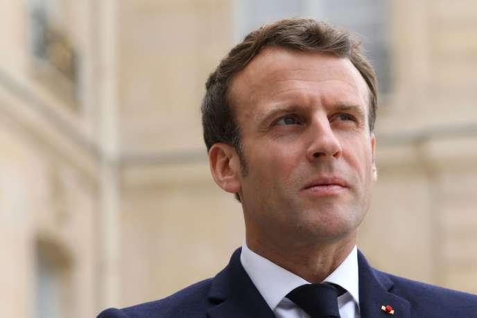 Emmanuel Macron, à l'Elysée, à Paris, le 6 mai.