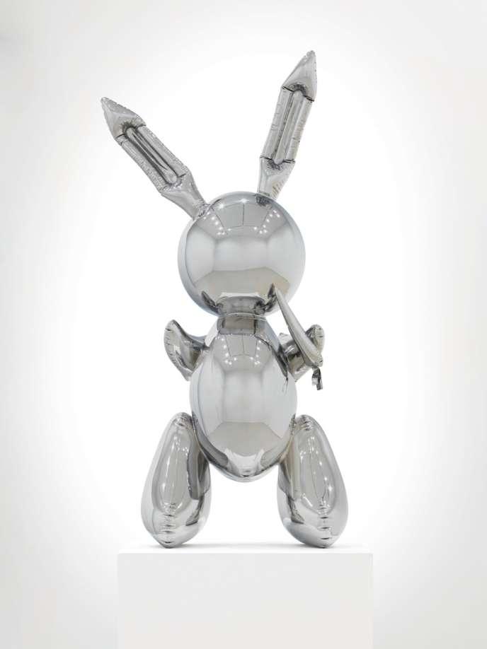 Rabbit, sculpture de Jeff Koons, prix estimé entre 45 et 63 millions d'euros