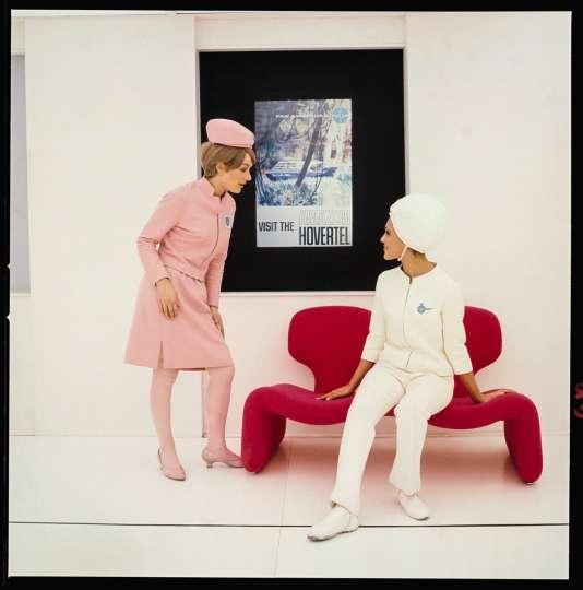 La Djinn Chair dans «2001, L'Odyssée de l'espace ».