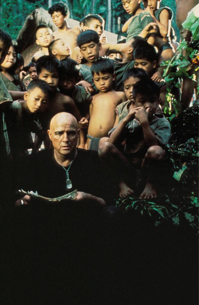 « Apocalypse Now » avec Marlon Brando dans le rôle du colonel Kurtz.