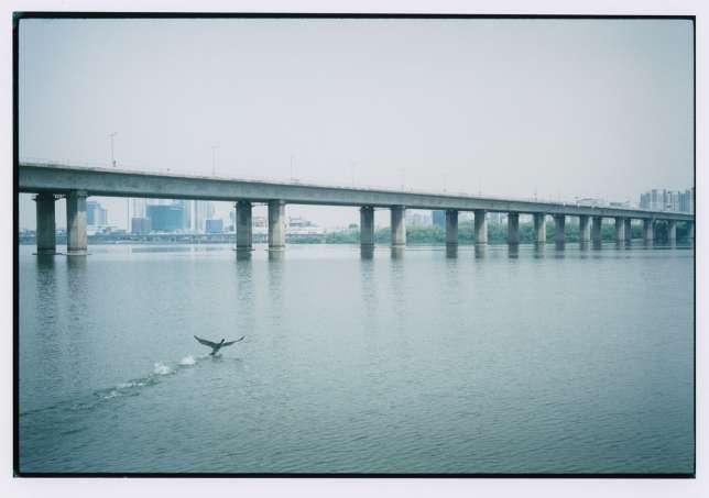 Le pont de Seogang sur le fleuve Han.