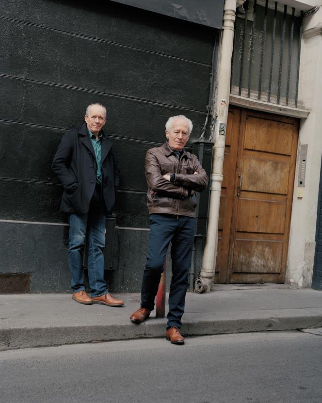 Luc et Jean-Pierre Dardenne, à Paris, le 29 avril 2019.