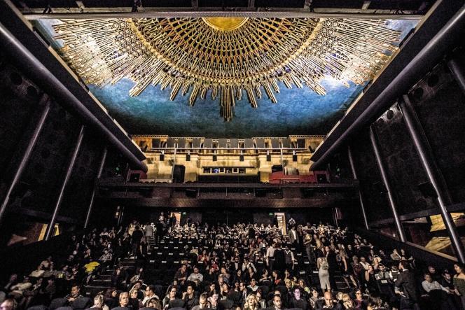 L'Egyptian Theater, une des salles historiques de LosAngeles, ici en 2016.