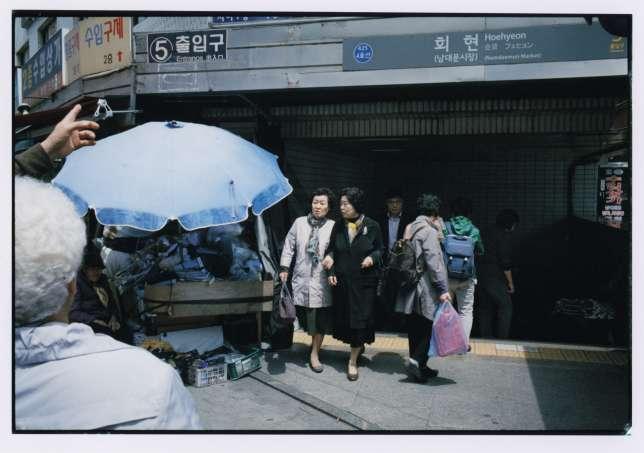 La station de métro Hoehyeon où Bong Joon-ho a tourné des scènes d'«Okja» (2017).