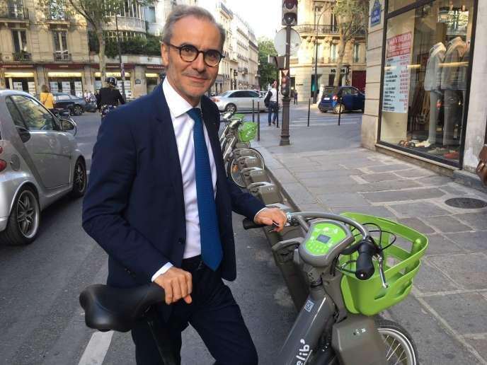 Arnaud Marion, à Paris, le 12 juillet 2018.