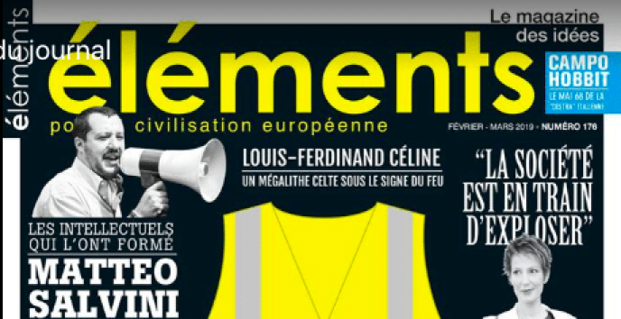 Revue « Elements » de mars 2019.