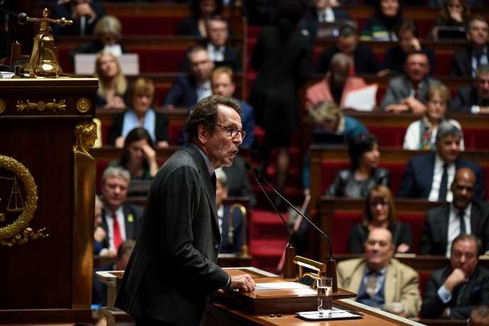 Le Président du groupe La République en Marche (LRM), Gilles Le Gendre, à l'Assemblée nationale à Paris, le 5 décembre 2018.
