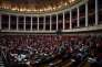 This picture taken on May 7, 2019 shows a general view of the National Assembly in Paris during a session of questions to the government on May 7, 2019. / AFP / Philippe LOPEZ