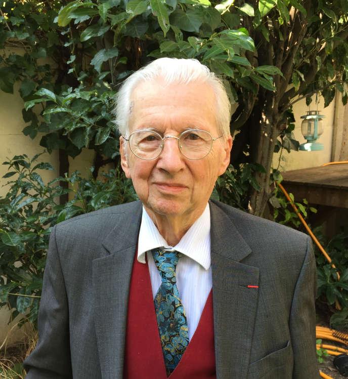 Pierre Riché, en 2017.