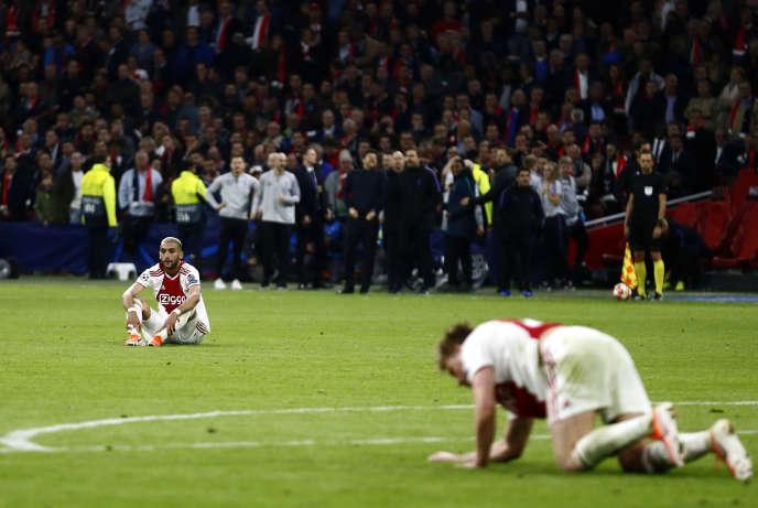 L'Ajax Amsterdam a été battu à domicile (2-3) par Tottenham, mercredi 8 mai.