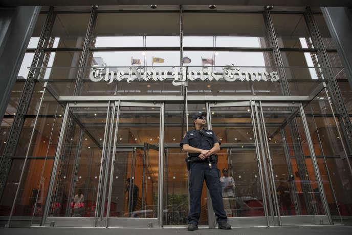 Le siège du «New York Times» en 2018.