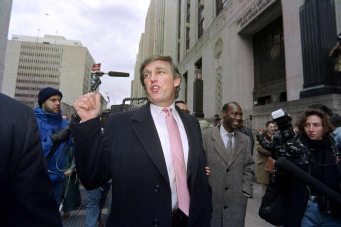 Donald Trump en 1991.