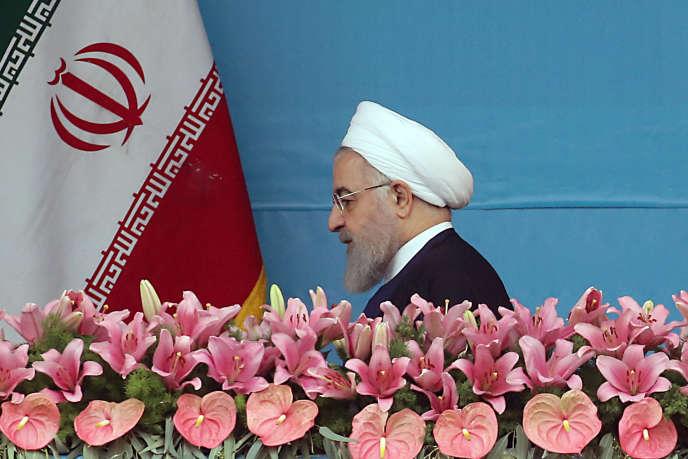 Le président iranien Hassan Rohani à Téhéran, le 18 avril 2019.