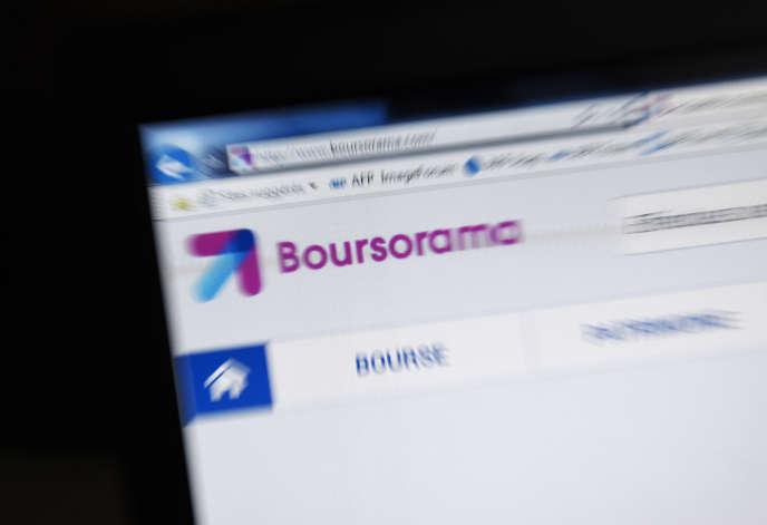 La banque en ligne Boursorama, filiale de la Société générale, a annoncé, mardi 7 mai, qu«'elle devrait passer le seuil des 2 millions de clients à l'été.