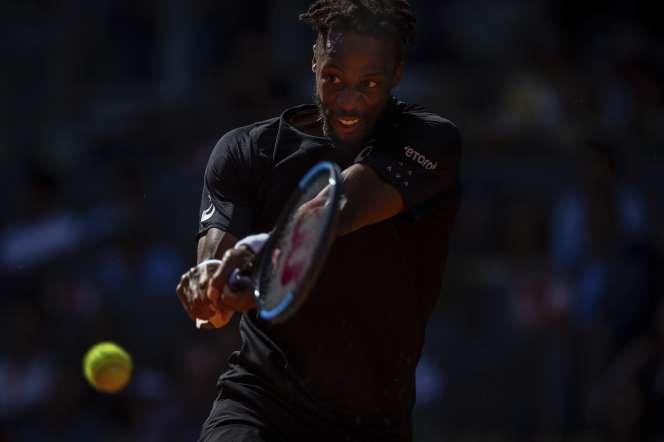 Gaël Monfils, le numéro un français en lice à Roland-Garros.
