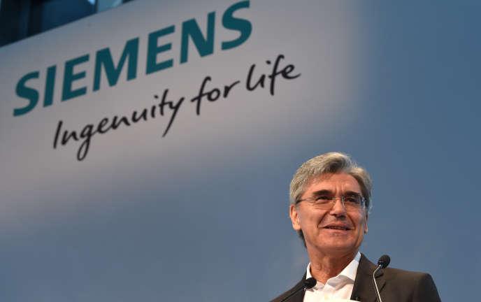 Joe Kaeser, le patron de Siemens, à Munich, le 2 août 2018.
