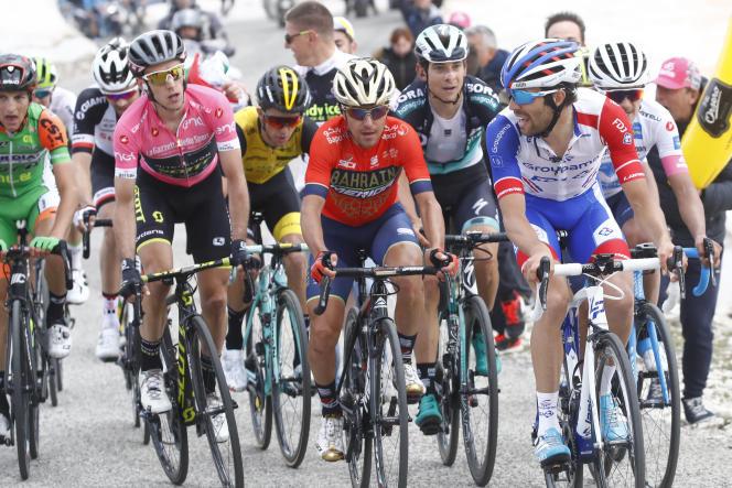 Sur le Tour d'Italie 2018.