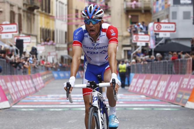 Thibaut Pinot se dirigeait vers une troisième place sur le Tour d'Italie 2018, avant de tomber malade sur la dernière étape de montagne.