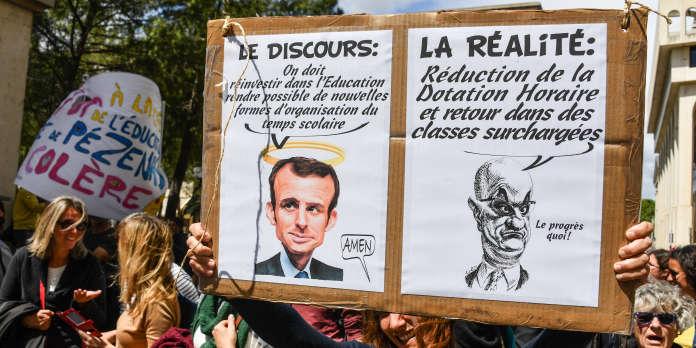 64b57feb98d Grève des fonctionnaires   plus de 100 000 manifestants contre la réforme  censée « moderniser » leur statut