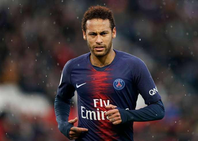 Neymar lors du match face à Nice.