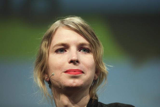 Chelsea Manning en mai 2018.