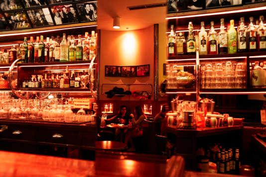 Bar Museo Chicote, à Madrid.