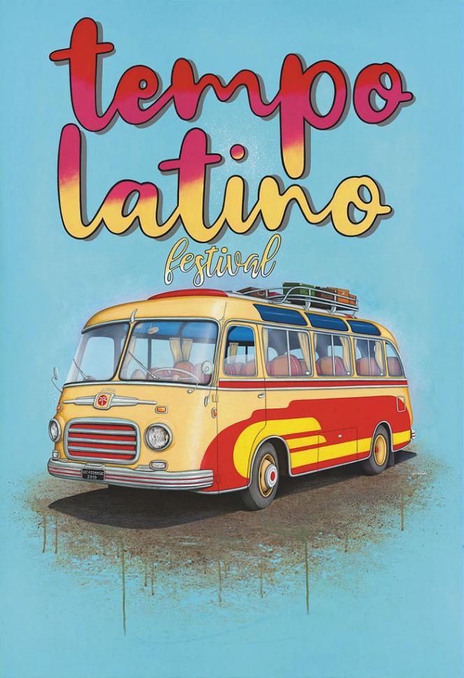Affiche de l'édition 2019 du festival Tempo Latino