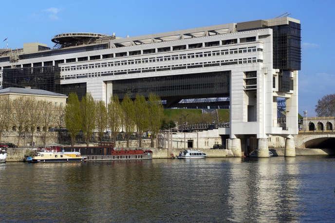 Le ministère de l'économie, des finances et de l'Industrie, à Paris.