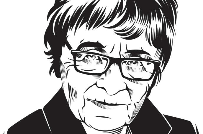 La philosophe hongroise Agnes Heller.