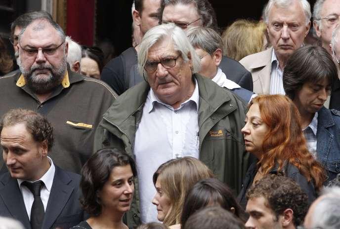 Le réalisateur Jean-Claud Brisseau, ici en août 2010.
