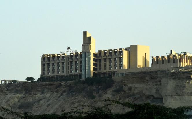 L'hôtel 5 étoiles Pearl Continental hotel, à Gwadar.