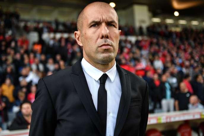 L'entraîneur de Monaco Leornardo Jardim a été remercié en octobre 2018, avant d'être rappelé trois mois et demi plus tard.