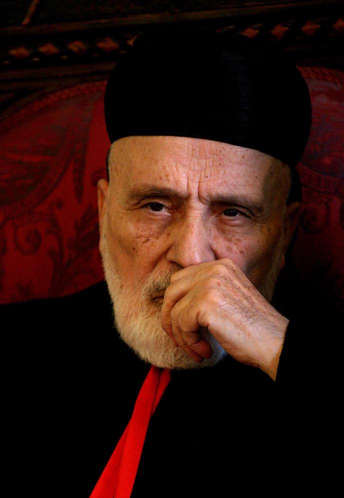 Nasrallah Sfeir en 2007.