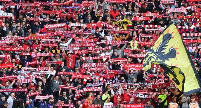 Les supporteurs lillois retrouveront la Ligue des champions l'an prochain.