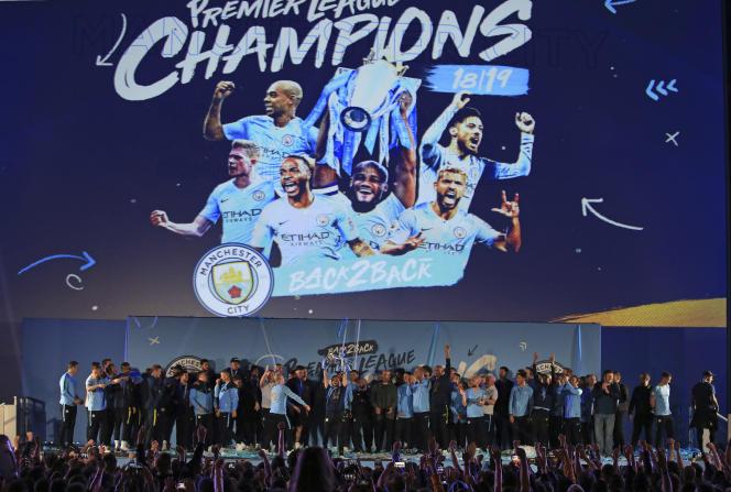 Manchester City a remporté le week-end dernier son deuxième Championnat d'Angleterre de suite.