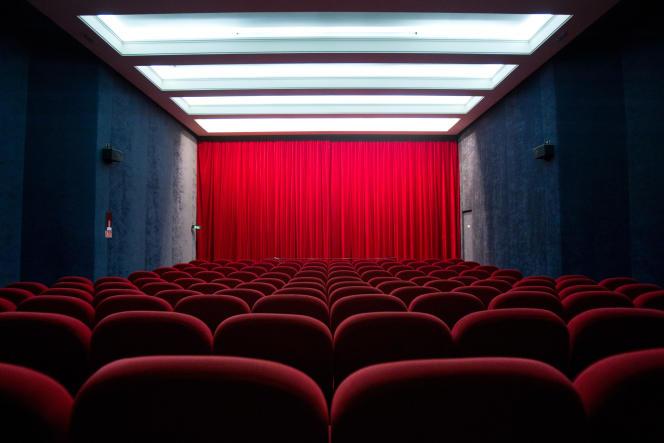 Le cinéma Saint-André-des-Arts, à Paris, en janvier 2011.