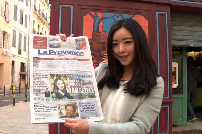 Le tournage de la série« Une famille du Wenzhou » a fait la «une» du journal local.