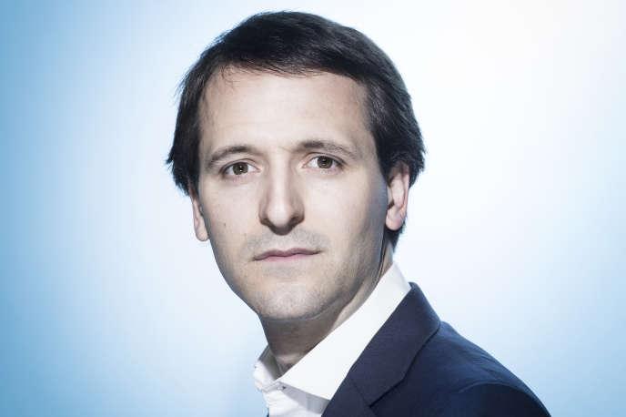 Stanislas Niox-Chateau, cofondateur et président de Doctolib, le 24 mai 2018 à Paris.