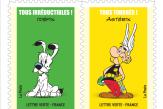 Un carnet de timbres pour les 60ans d'Astérix