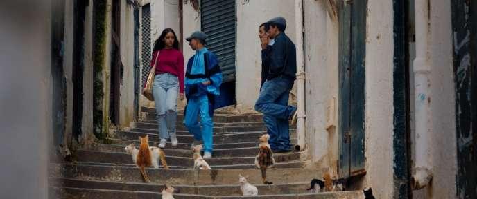 Photo tirée du film de l'Algérienne Mounia Meddour,« Papicha», sélectionné dans la section Un certain regard pour l'édition 2019 du Festival de Cannes.