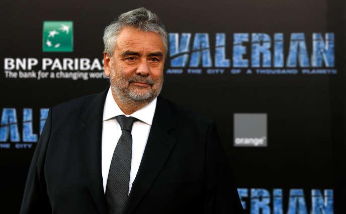 Le producteur Luc Besson à la première du film