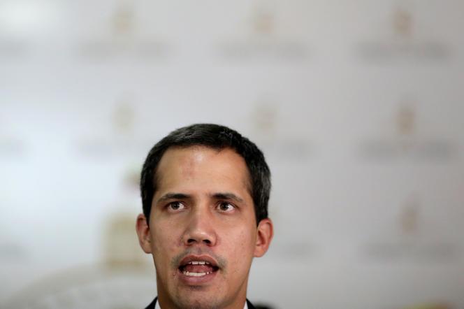 Juan Guaido, le leader de l'opposition vénézuellienne, à Caracas, le 14 mai.